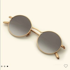 KREWE Dante Sunglasses, 24K Titanium Mirrored, (NWT) Lifetime Warranty